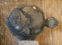 Organisch, Stein, Fisch, Gegenständlich