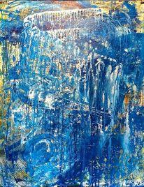 Blau, Spirituell, Menschen, Malerei