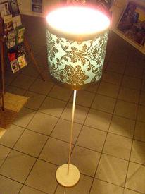Design, Atelier, Lampe, Holz