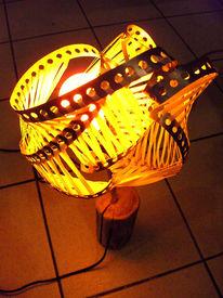 Lampe, Design, Holz, Licht