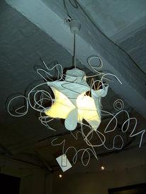 Design, Lampe, Atelier, Gips