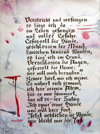 Gedicht, Grafik, Psyche, Blut
