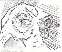 Zeichnungen, Zukunft, Angst, Gefühl