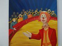 Rot, Menschen, Gelb, Zirkus