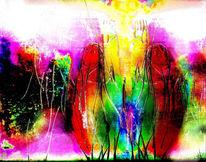 Grafik, Abstrakt, Gesellschaft