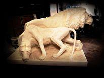 Tiere, Realismus, Plastik, Skulptur
