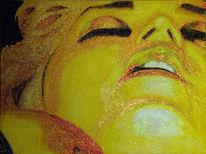 Gold, Glimmer, Perlmut, Malerei