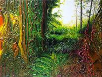 Gesellschaft, Ölmalerei, Expressionismus, Malerei