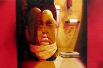Ölmalerei, Malerei, Figural, Gesellschaft