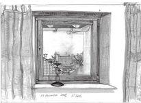 Landschaft, Zeichnung, Zeichnungen, Blick
