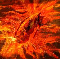Malerei, Abstrakt, Explosion, Zyklus
