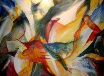 Malerei, Abstrakt, Wanderung