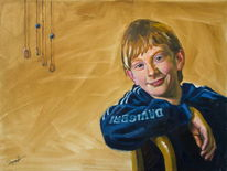 Gemälde, Ölmalerei, Acrylmalerei, Figural