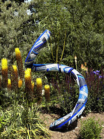 Gartenskulptur, Mosaik, Skulptur, Plastik