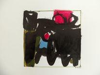 Komposition, Blackwhitecolour, Schwarz, Malerei