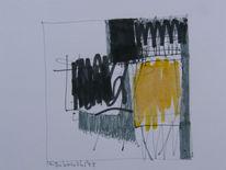 Abstrakt, Zeichnung, Landschaft, Zeichnungen