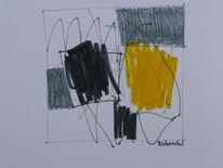 Zeichnung, Landschaft, Abstrakt, Zeichnungen