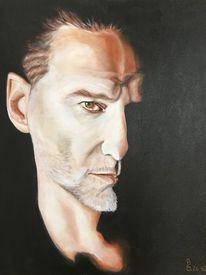 Sänger, Portrait, Depeche mode, Malerei