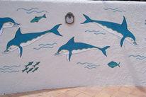 Wandmalerei, Tiere, Acrylmalerei, Malerei