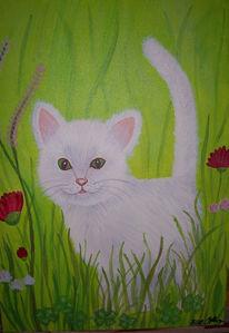 Tiere, Figural, Acrylmalerei, Malerei