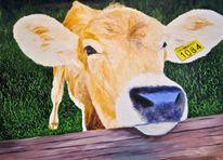 Zeitgenössisch, Kuh, Tiere, Antideterministisch