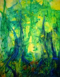 Rheingold, Abstrakt, Malerei, Tv