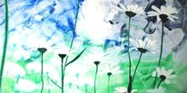 Blumen, Margerite, Malerei, Surreal