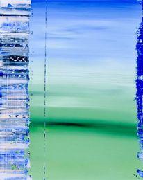 Ostfriesland, Gemälde, Nebel, Abstrakt