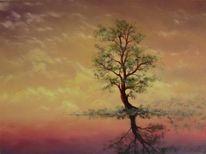 Ölmalerei, Besinnlich, Ruhig, Malerei