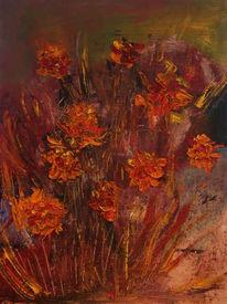 Ölmalerei, Malerei, Pflanzen
