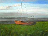 Nordsee, Dangast, Acrylmalerei, Meer
