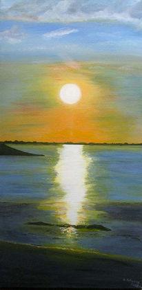 Meer, Nordsee, Acrylmalerei, Dangast