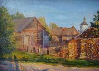 Dorf, Leben, Realismus, Russland