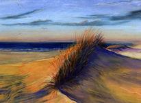Malerei, Abendlicht