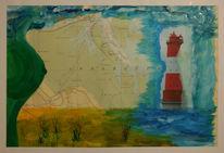 Leuchtturm, Nordsee, Jadebusen, Wangerooge