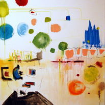 Farben, Vielfältigkeit, Malerei, Figural