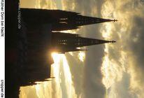 Wolkenschön, Dom, Sonne, Köln