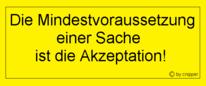 Spruch des tages, Politik, Berlin, Sache
