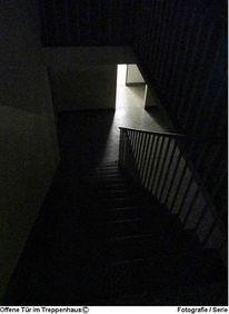 Fotografie, Serie, Schwarz weiß, Treppenhaus