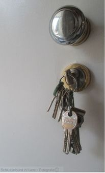 Schlüssel, Haustür, Bund, Schlüsselbund