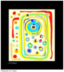 Wasserfarben, Zeit, Bunt, Kreis