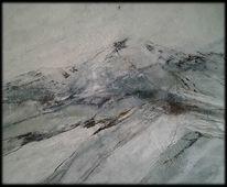 Schnee, Feld, Landschaft, Berge