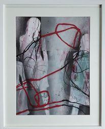 Frau, Menschen, Linie, Malerei