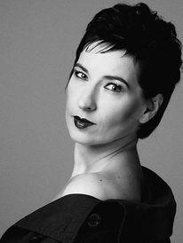 Schwarzweiß, Portrait, Fotografie, Frau