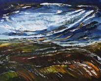 Herbst, Malerei, Abstrakt