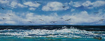 See, Seelandschaft, Wolken, Meer
