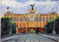 Landtag, Maximilansbrücke, Maximilianeum, München
