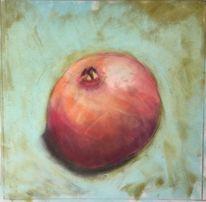 Granatapfel, Obst, Apfel, Malerei