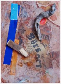 Collage, 2017, Mischtechnik,