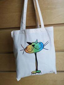 Katze, Tiere, Fotografie, Tasche
